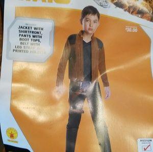 HAN SOLO Star Wars Child Costume 5-7yrs Medium